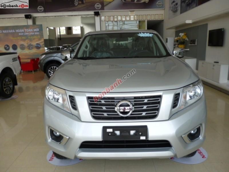 Bán ô tô Nissan Navara E đời 2015, màu bạc, nhập khẩu nguyên chiếc, giá tốt tại Nissan Biên Hòa