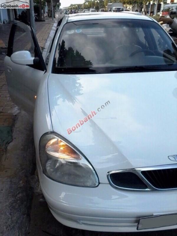 Bán ô tô Daewoo Nubira 1.6 MT đời 2003, màu trắng như mới