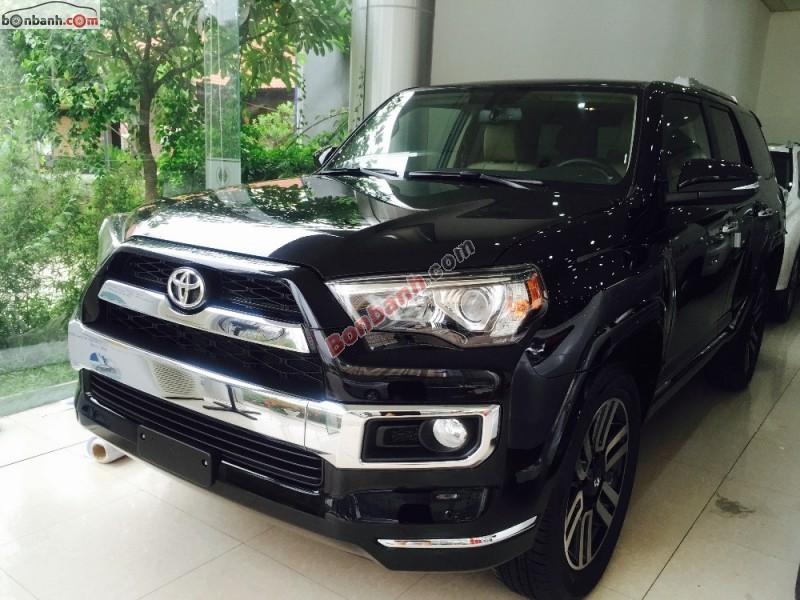 Cần bán Toyota 4 Runner Limited 2015, màu đen, nhập khẩu