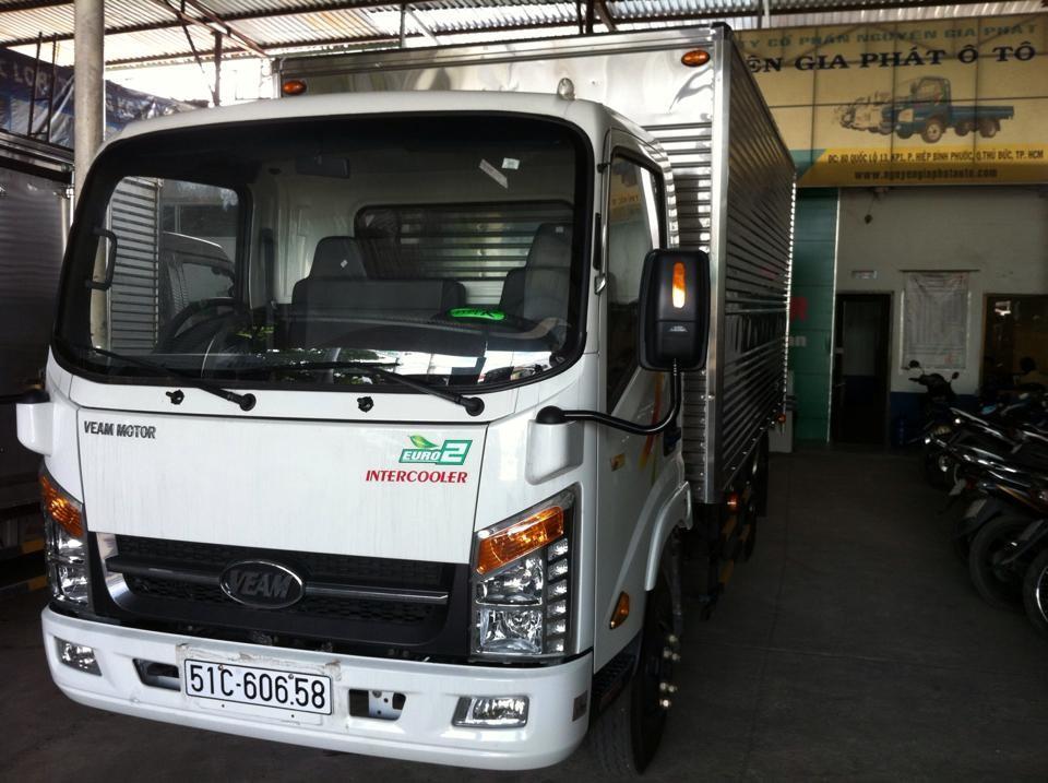 Cần bán xe tải Veam VT200 sản xuất 2015, màu trắng, nhập khẩu, giá chỉ 370 triệu