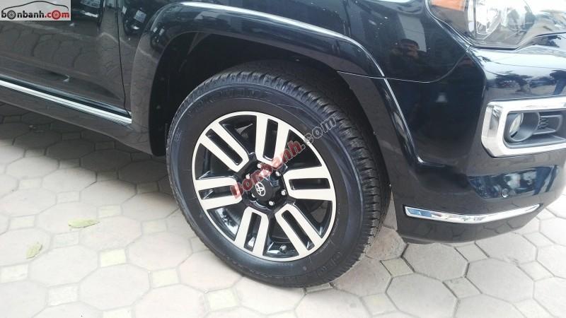 Bán Toyota 4 Runner Limited sản xuất 2015, màu đen, nhập khẩu nguyên chiếc