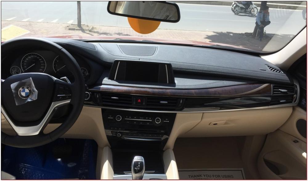 Bán ô tô BMW X6 2016 đời 2015, màu đỏ, nhập khẩu nguyên chiếc