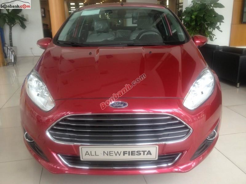 Bán ô tô Ford Fiesta Titanium 1.5 đời 2014, màu đỏ