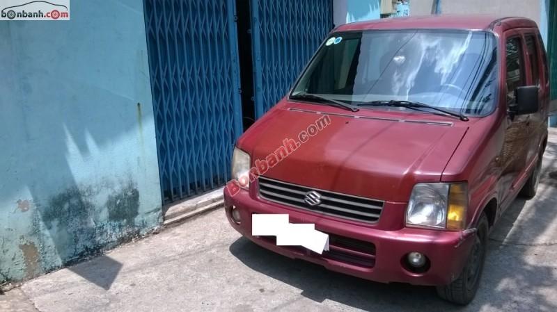 Cần bán xe Suzuki Wagon R 2001, màu đỏ