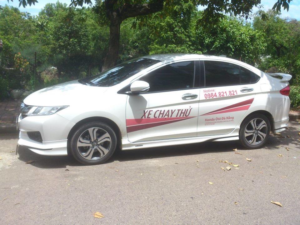 Bán xe Honda City 2016 tại Honda ô tô Đà Nẵng với khuyến mãi tốt nhất