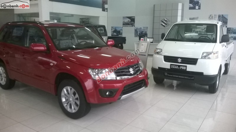 Bán ô tô Suzuki Grand vitara đời 2015, màu đỏ, nhập khẩu chính hãng