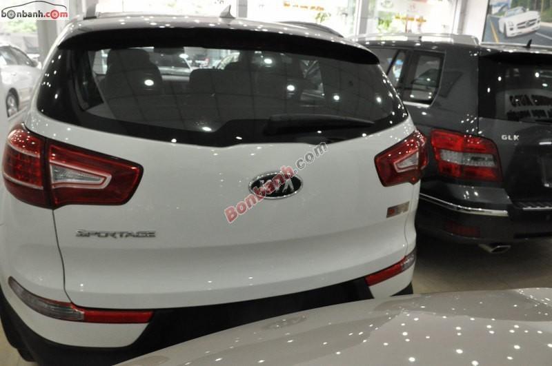 Kia Sportage Limiter đời 2012, màu trắng, nhập khẩu