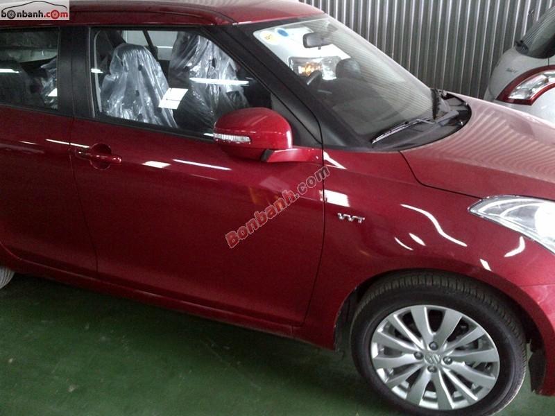 Cần bán Suzuki Swift đời 2015, màu đỏ, giá chỉ 530 triệu