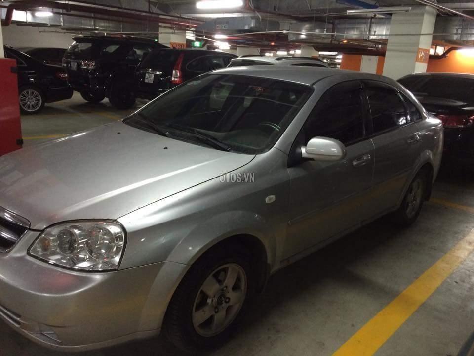 Cần bán xe Daewoo Lacetti EX-1.6 2009, màu bạc