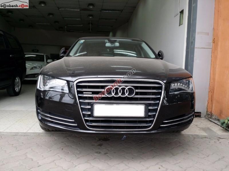 Xe Audi A8 đời 2010, màu đen, nhập khẩu, chính chủ