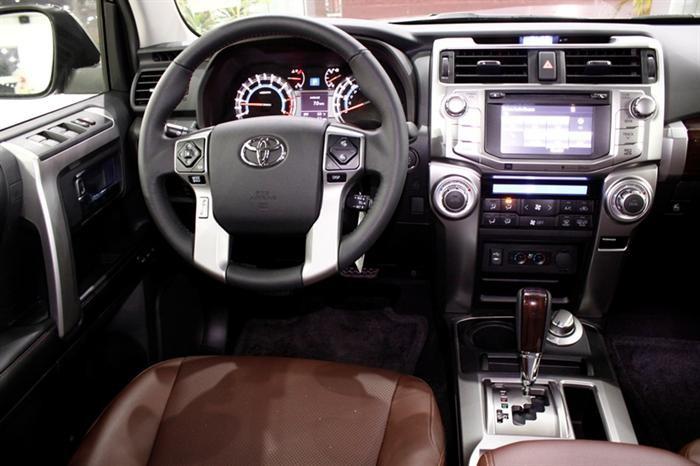 Bán Toyota 4 Runner đời 2015, màu đen, nhập khẩu nguyên chiếc