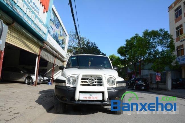 Cần bán lại xe Ssangyong Korando 2004, màu trắng, nhập khẩu