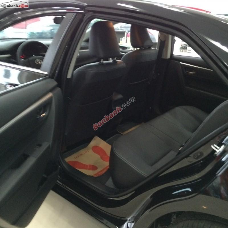 Bán Toyota Corolla altis 1.8G CVT đời 2015, màu đen, 820tr