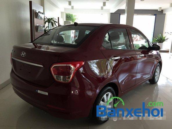 Hyundai Phạm Hùng bán ô tô Hyundai i10 năm 2015, màu đỏ giá cạnh tranh