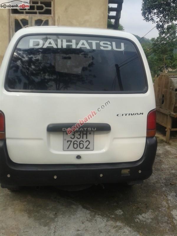 Bán ô tô Daihatsu Citivan 2003, màu trắng