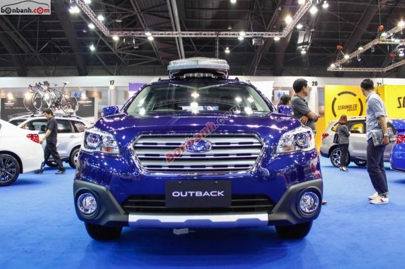 Cần bán Subaru Outback 3.6R sản xuất 2015, màu xanh lam, xe nhập