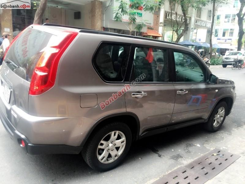 Bán Nissan X Trail đời 2008, màu xám, xe nhập, số tự động