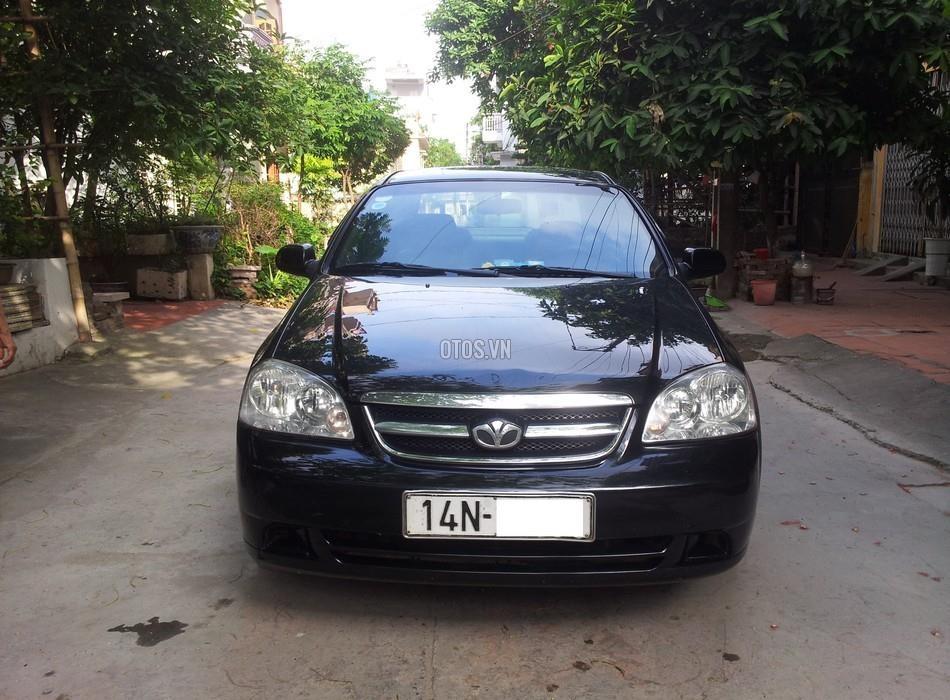 Xe Daewoo Lacetti EX-1.6 đời 2008, màu đen