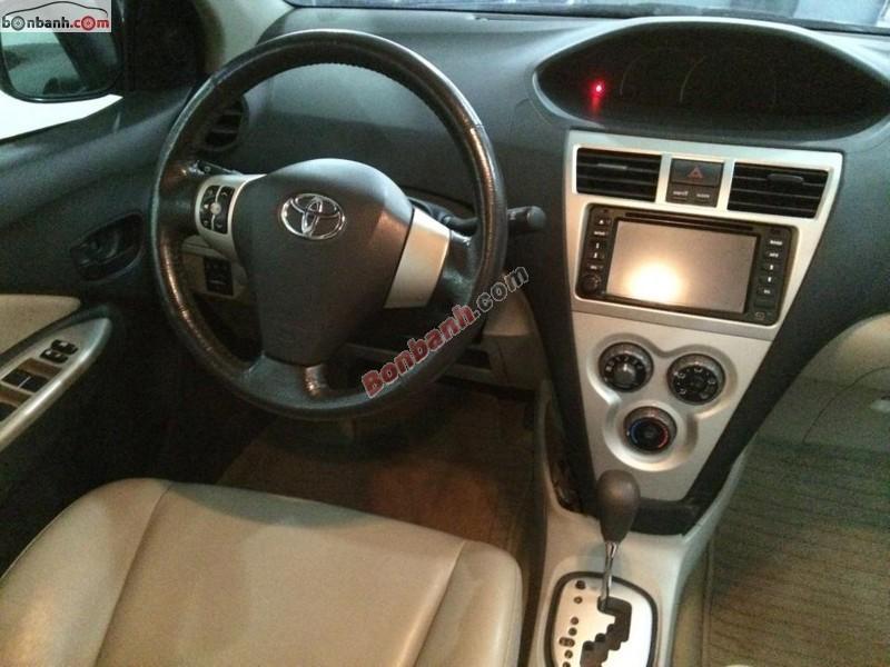 Auto Hà Tiến 560 NVC cần bán gấp Toyota Vios G đời 2009, màu bạc chính chủ