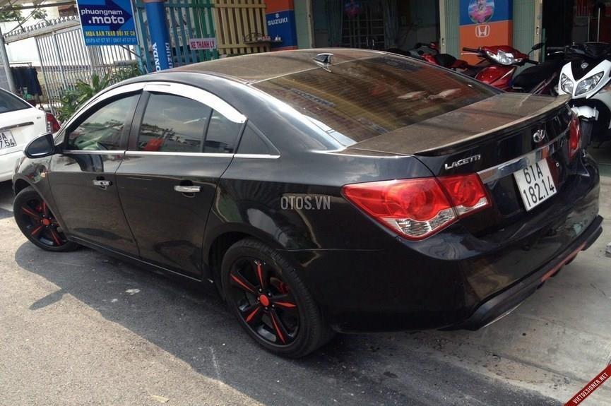 Bán ô tô Daewoo Lacetti CDX-1.8AT đời 2009, màu đen
