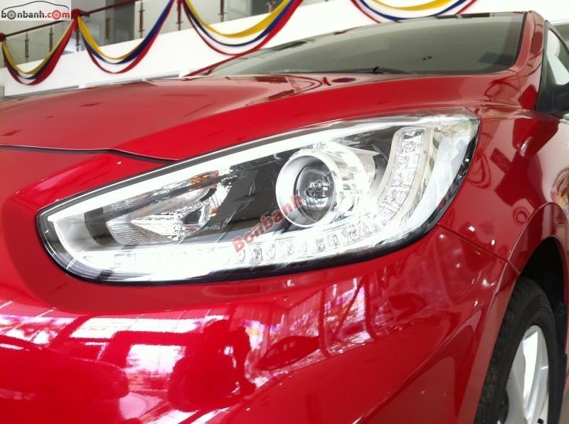 Cần bán Hyundai Accent 1.4AT năm 2013, màu đỏ, nhập khẩu chính hãng