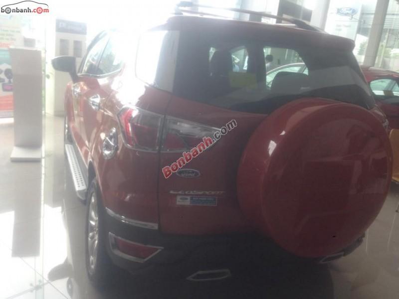 Ford EcoSport Titanium đời 2015, màu đỏ, giá chỉ 577 triệu