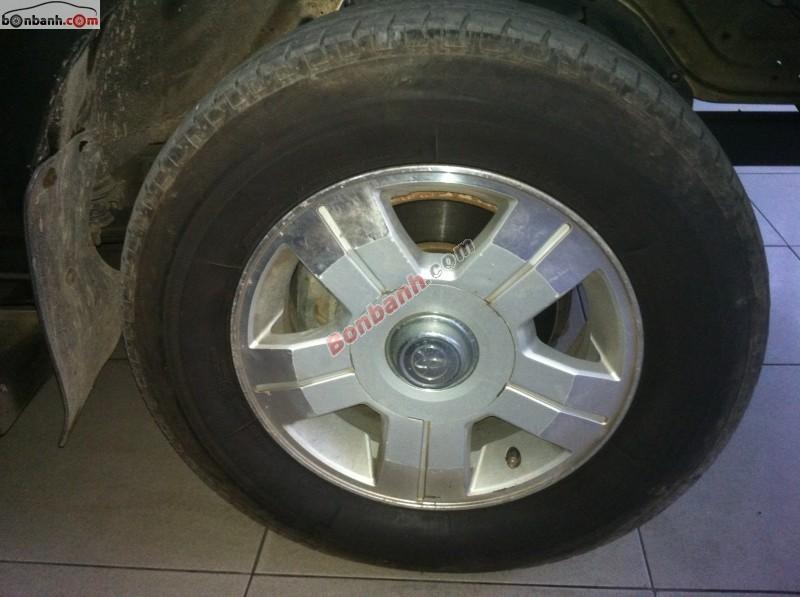 Xe Toyota Zace GL đời 2005, màu vàng số sàn