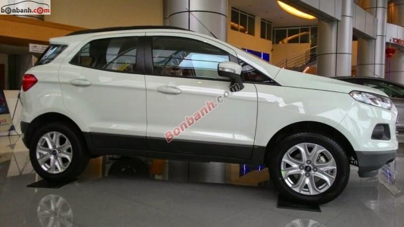 Cần bán Ford EcoSport AT đời 2015, màu trắng
