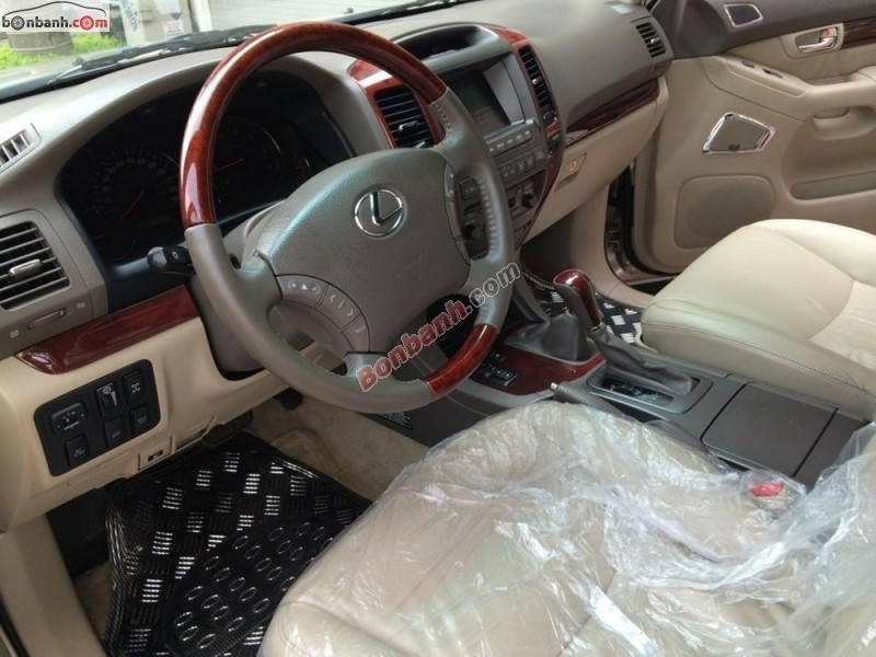 Cần bán lại xe Lexus GX 470 năm 2008, màu vàng cát, xe nhập