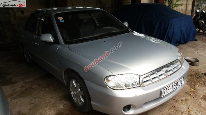Bán ô tô Kia Spectra LS đời 2005, màu bạc