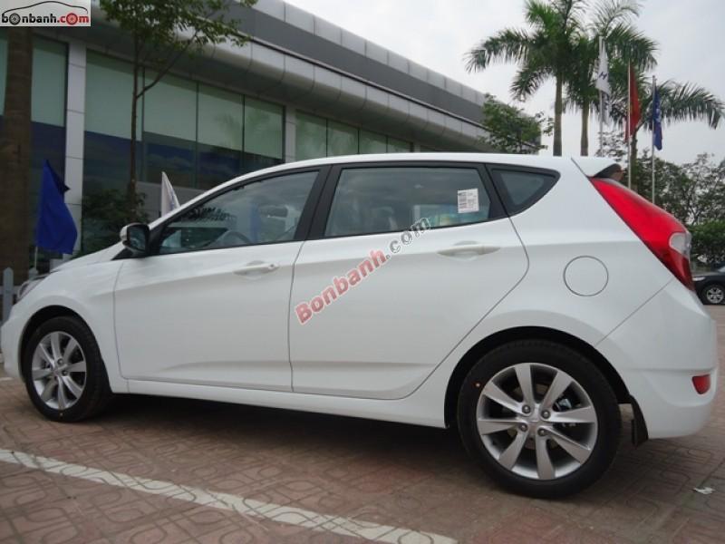 Bán Hyundai Accent 1.4AT đời 2015, màu trắng, nhập khẩu nguyên chiếc