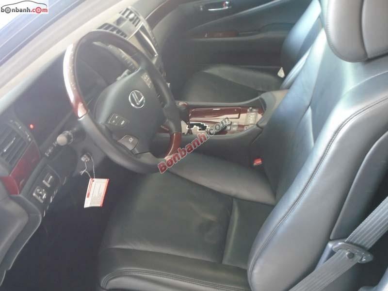 Lexus LS 460L đời 2007, màu đen, xe nhập, xe gia đình