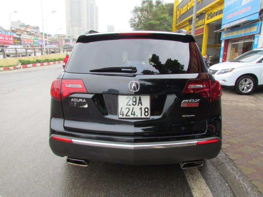 Cần bán lại xe Acura MDX 3.7l Advance đời 2011, màu đen, nhập khẩu