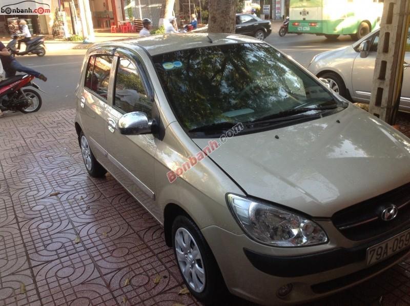 Cần bán xe Hyundai Getz MT năm 2010, nhập khẩu, giá 340Tr