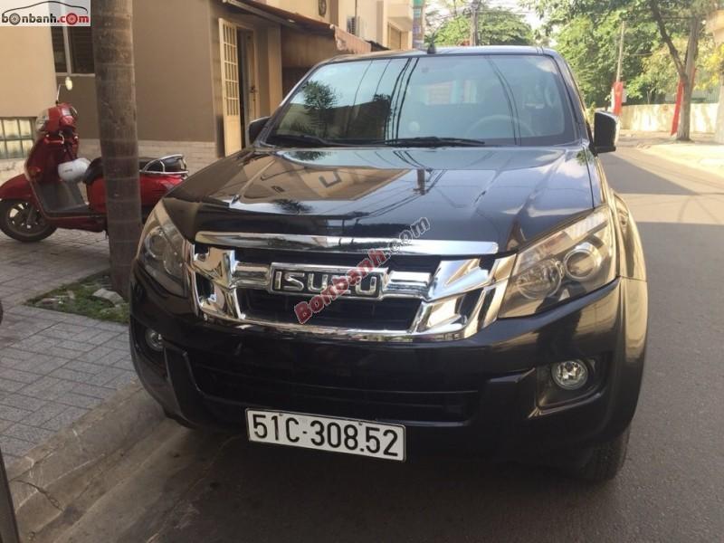 Bán xe Isuzu Dmax đời 2013, màu đen, xe nhập, số sàn
