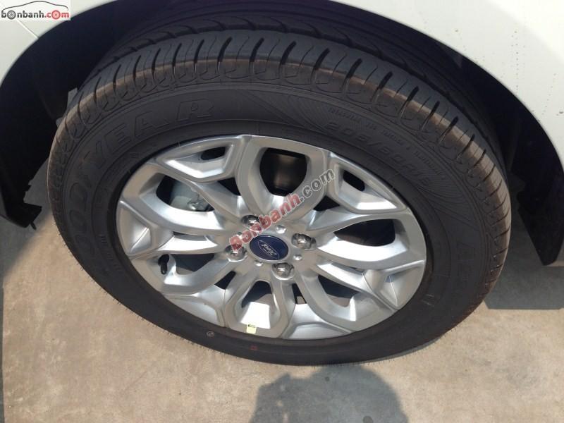 Bán xe Ford EcoSport 1.5 AT Titanium đời 2014, màu trắng - LH ngay 0932 338 199