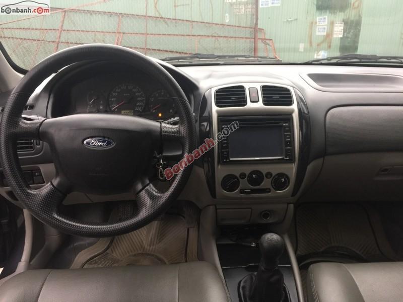 Salon ô tô Hà Nội 1 cần bán gấp Ford Laser Ghia 1.8MT đời 2003, màu đen