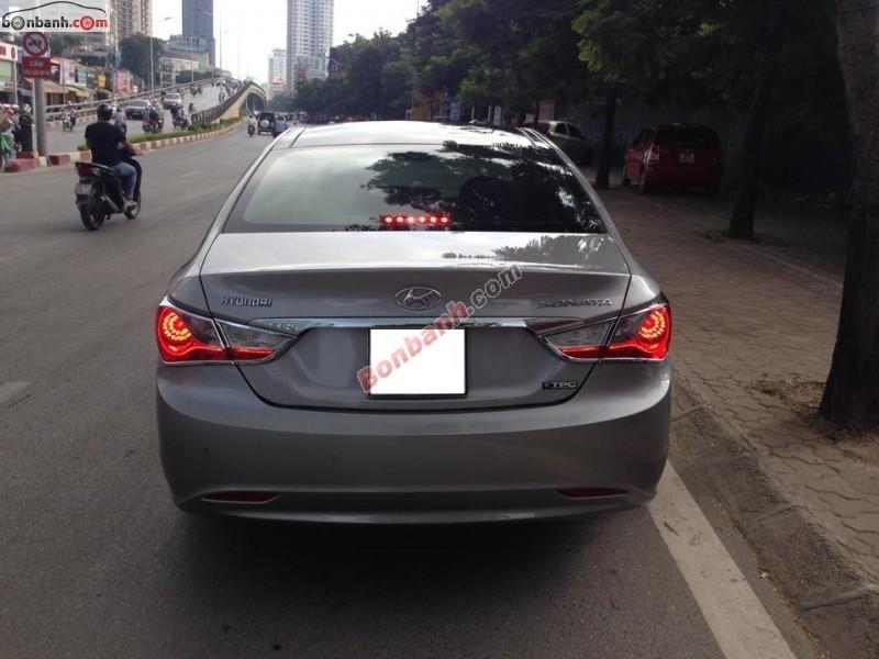 Bán xe Hyundai Sonata sản xuất 2011, màu xám, nhập khẩu chính chủ
