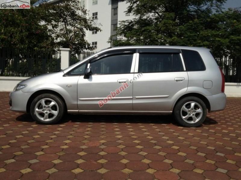 Cần bán lại xe Mazda Premacy 1.8AT đời 2004, màu bạc