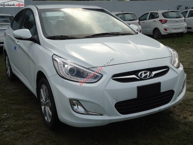Bán xe Hyundai Accent mới màu trắng, nhập khẩu chính hãng, giá 583 triệu