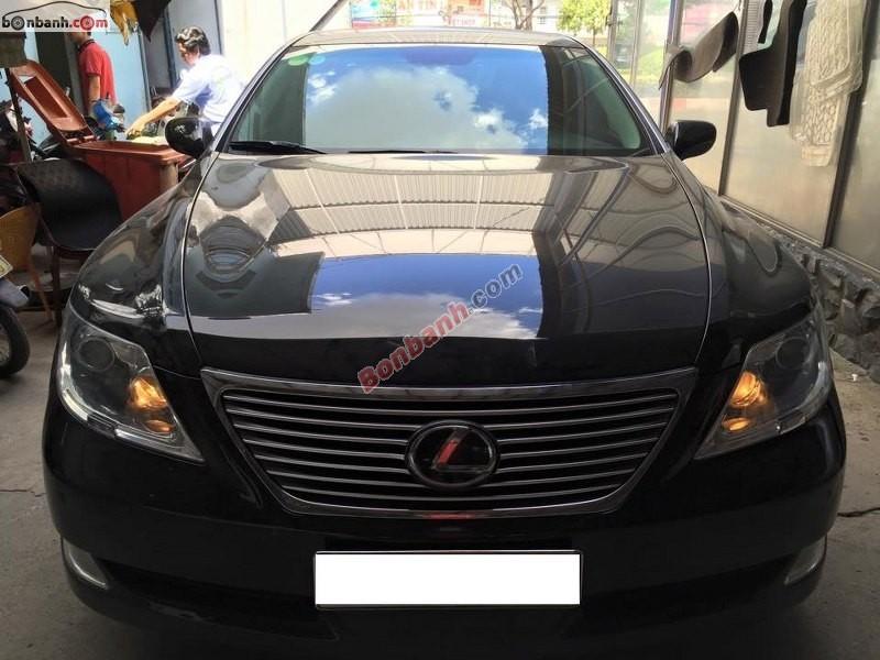 Bán ô tô Lexus LS 460L đời 2007, màu đen, nhập khẩu