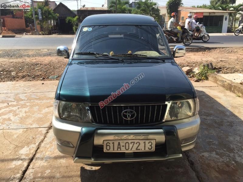 Bán xe Toyota Zace GL đời 2003, giá chỉ 276 triệu, xe zin nguyên bản