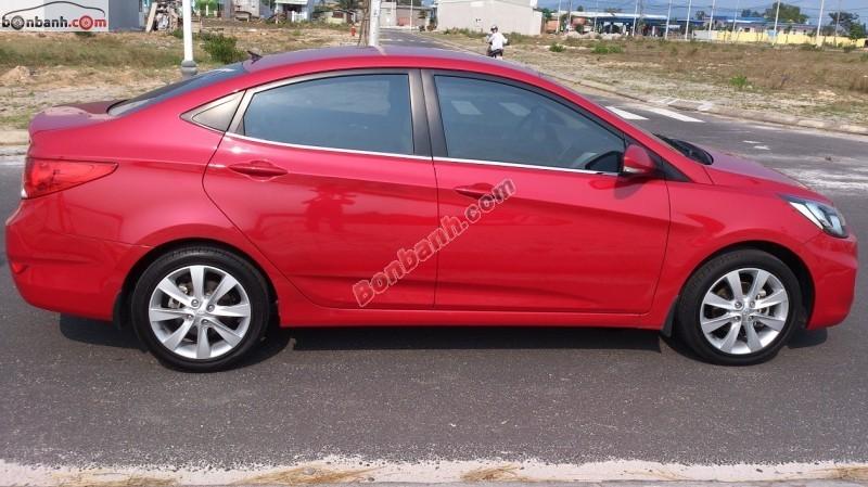 Cần bán gấp Hyundai Accent AT đời 2011, màu đỏ, nhập khẩu nguyên chiếc còn mới