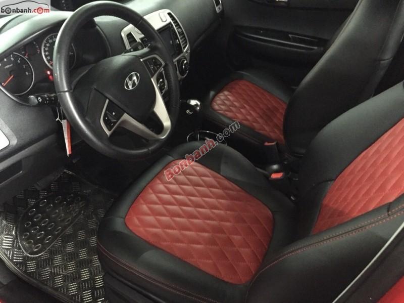 Bán Hyundai i20 đời 2012, màu đỏ, nhập khẩu chính hãng, 520Tr