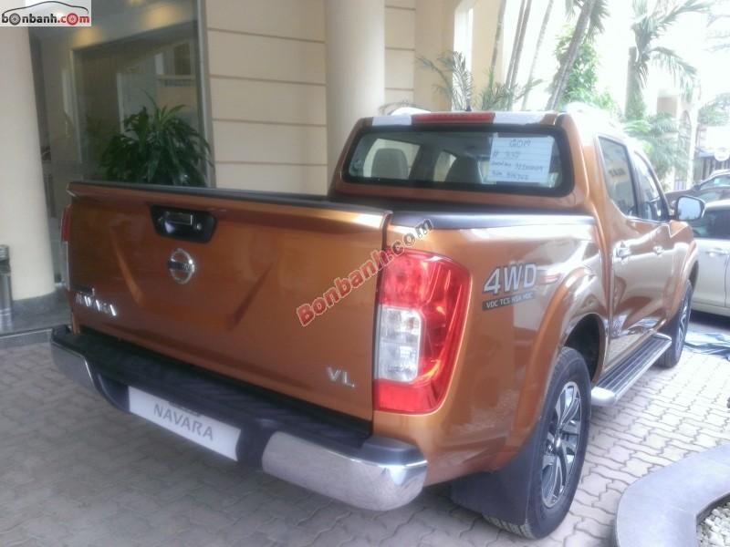 Bán xe Nissan Navara NP 300 VL đời 2015, màu nâu, xe nhập, 825 triệu