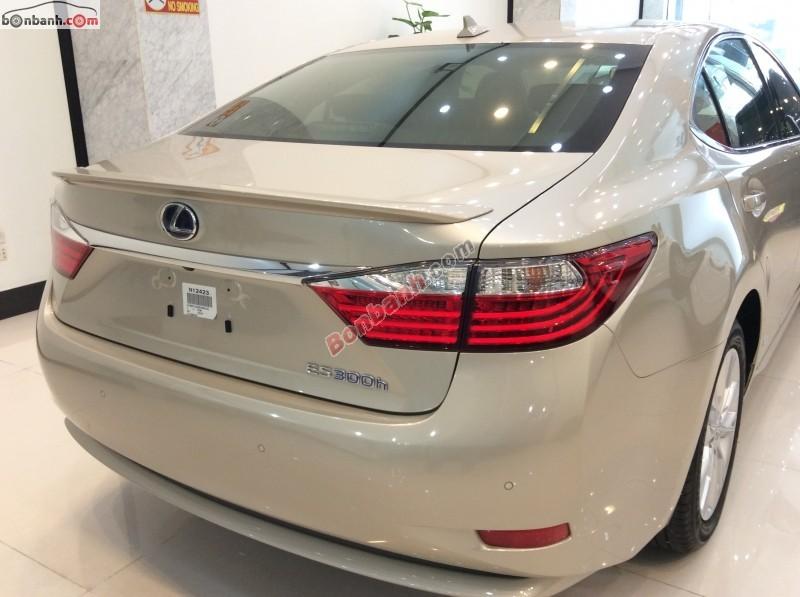 Bán Lexus ES 300H đời 2014, màu vàng, nhập khẩu