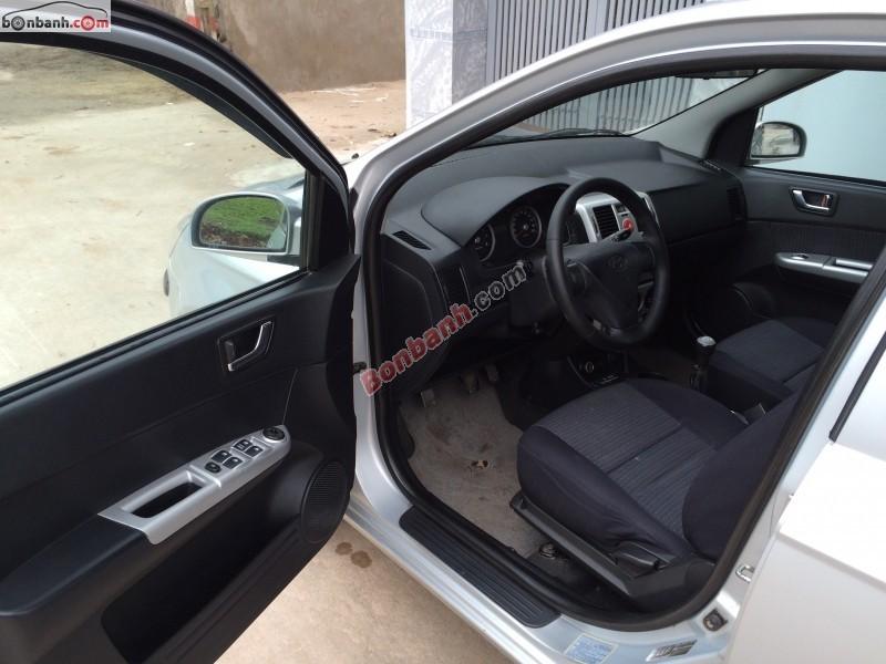 Xe Hyundai Getz MT đời 2010, màu bạc, nhập khẩu chính chủ cần bán