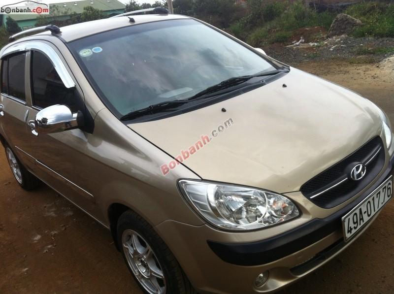 Cần bán lại xe Hyundai Getz MT đời 2010, màu vàng cát, xe nhập