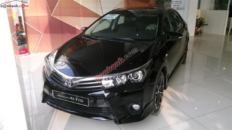 Bán ô tô Toyota Corolla Altis 2.0L đời 2015, màu đen, giá tốt