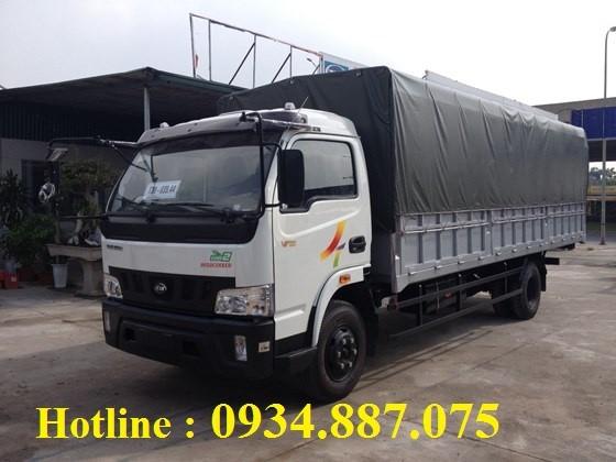 Bán xe tải Veam VT751 7.15 tấn - xe tải Veam VT751 7,15 tấn/7.15 tân thùng dài 6.2 mét